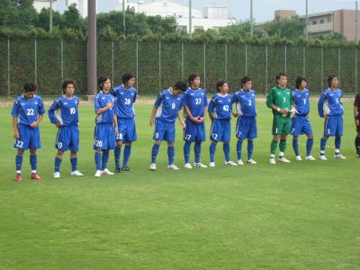 2009 第33回 総理大臣杯 vs大阪学院大学(試合前)