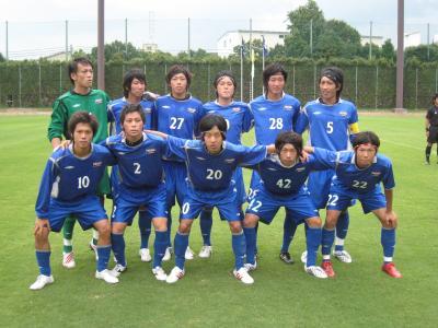 2009 第33回 総理大臣杯 vs大阪学院大学(スタメン)