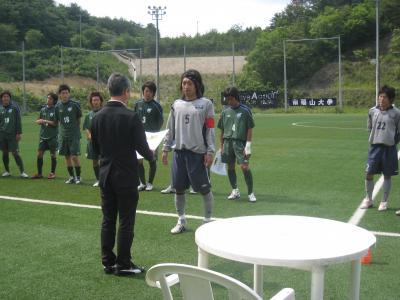 2009 総理大臣杯予選 決勝戦 vs 徳山大(表彰式)