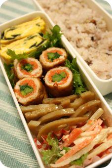 野菜巻き弁当