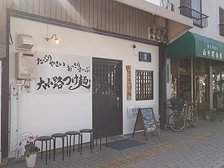 つけ麺★幸運軒外観