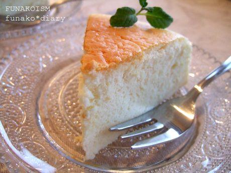 スフレチーズケーキ3