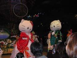 サンリオピューロランドクリスマスパレード