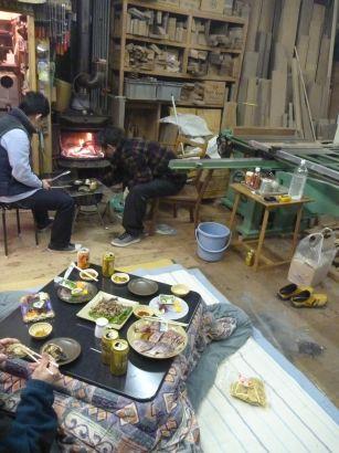冬の宴会1