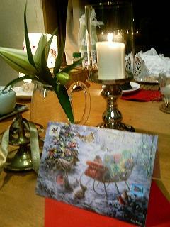 クリスマスカード ドイツ 2009