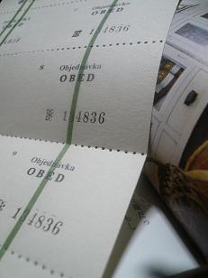 チェコ製ticket