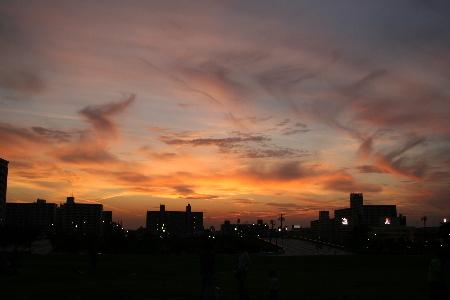 9月16日夕焼け空