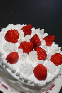 いちごのショートケーキ♪
