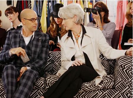 ファッションディレクターのナイジェル(左)とミランダ