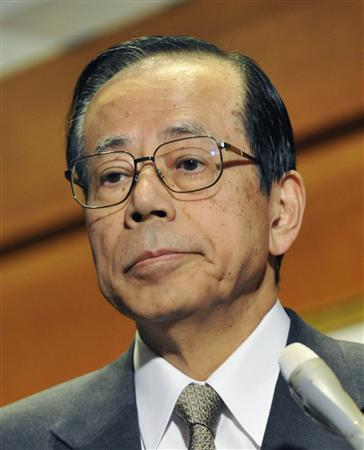 支持率が落ち続ける福田内閣