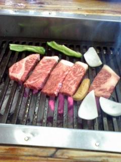 白老牛ステーキ