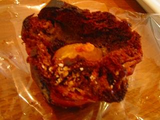 国産甘栗でブリオッシュでカフェオレなパン。