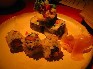 サーモン皮のお寿司