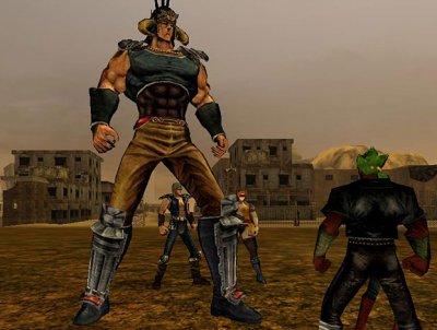 オンラインサバイバルアクションRPG 「北斗の拳オンライン」