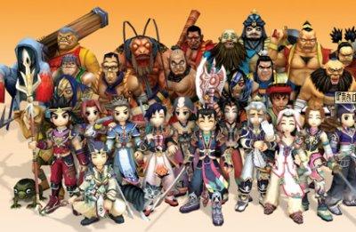 3D MMORPG 無料オンラインゲーム『熱血江湖』