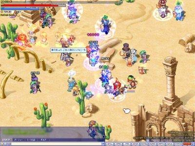 2D MMORPG 無料オンラインゲーム『トリックスター』