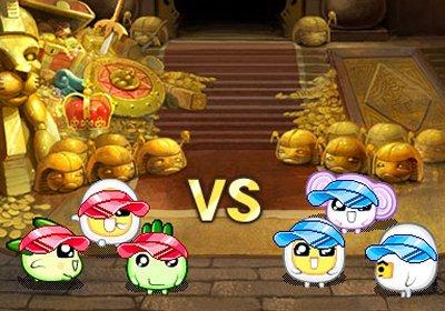 2D MMORPG 無料オンラインゲーム「野菜村」