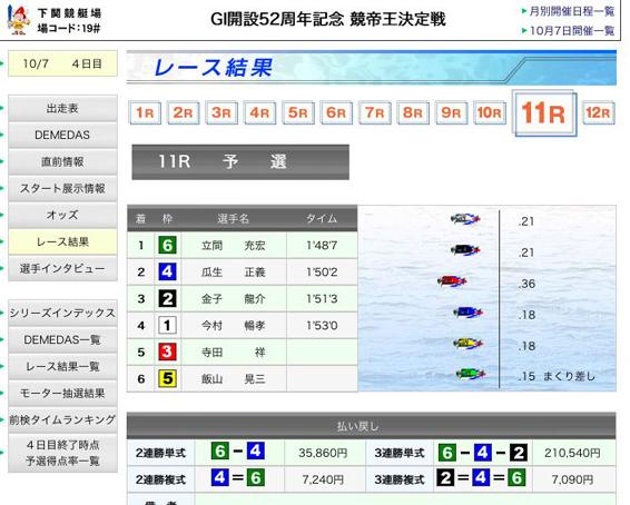 競艇王11R