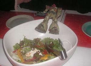 ザビ家のサラダ