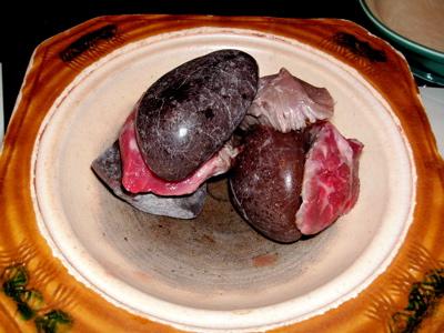 牛肉石焼き
