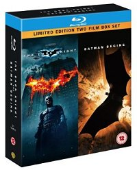 The Dark Knight / Batman Begins (Double Pack) [Blu-ray]