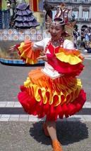 パレードにてダンサーさん