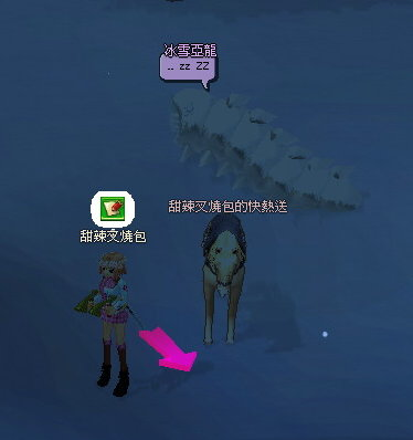發現冰雪亞龍