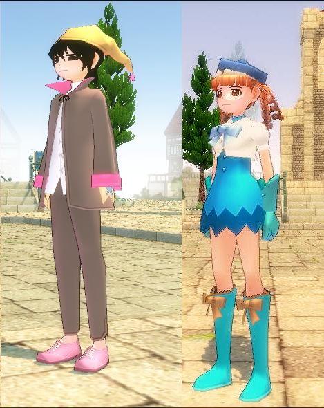 日本魔法少女風的服裝