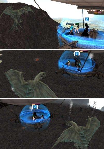 龍與熱氣球