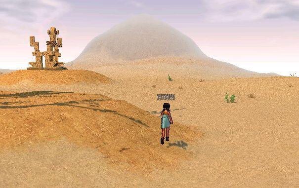 倫迦(ロンガ)沙漠景觀1