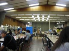 ICU 食堂内