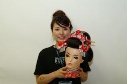 DSCF0041新日本髪準優勝