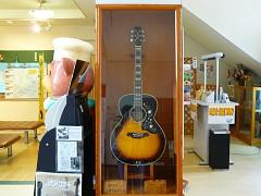 高峰さんのギター