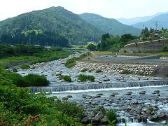 のんびり川上川
