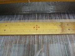 機織体験用のたて糸