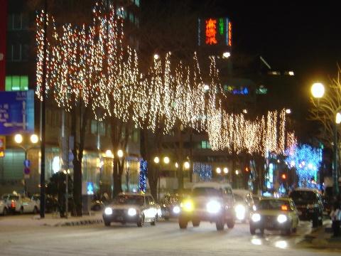4丁目交差点(2008.12.22)