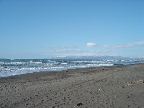 石狩の海(2009.03.29)