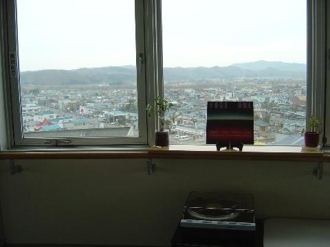 レコード演奏中(2009.04.04)