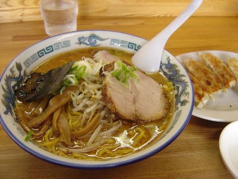 友峰のみそラーメン(2009.07.26)