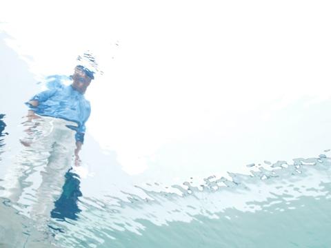 レアンドロのプール、下から01(2009.08.11)
