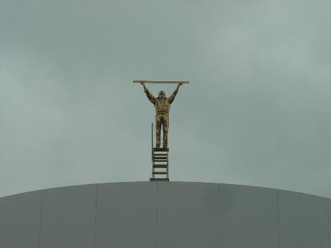 雲を測る男01(2009.08.11)