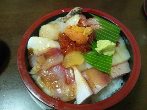 海鮮丼♪(2011.11.20)