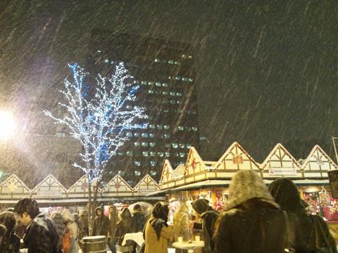 またもや雪の中(2011.12.22)