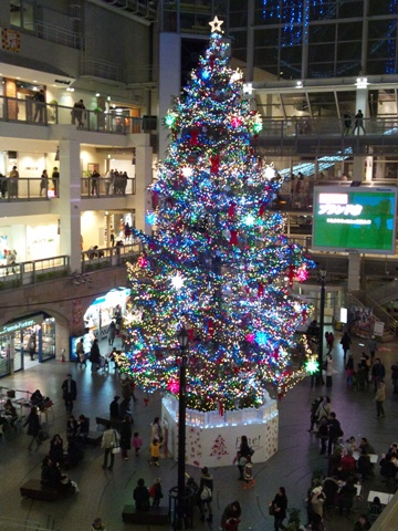 さっぽろファクトリーのツリー(2011.12.23)