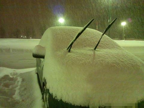 またもや豪雪職場地方(2012.02.02)