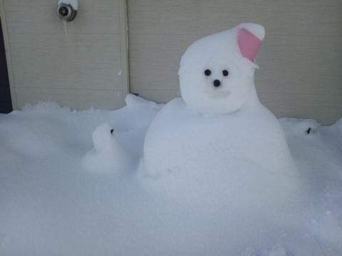 雪だるま(2012.02.04)