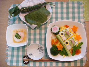 こいのぼり寿司