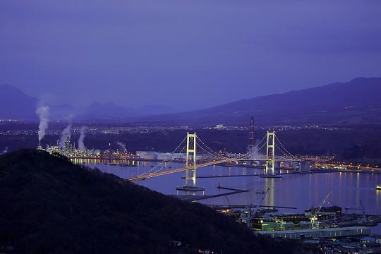 白鳥大橋夜景0001