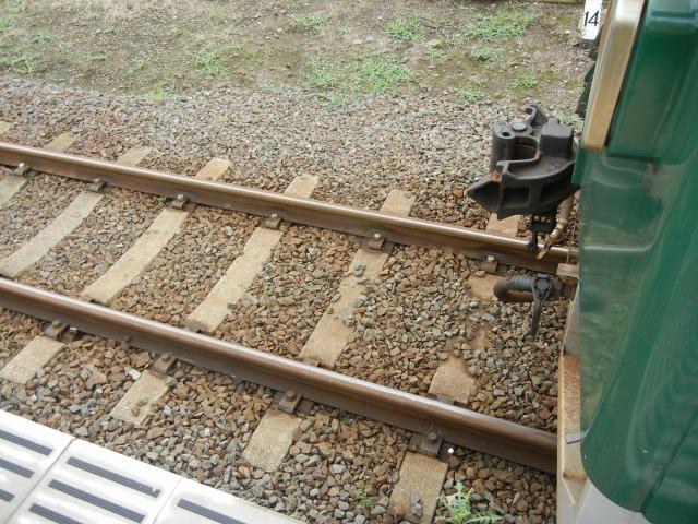 2011/7/30阿字ヶ浦駅にて2