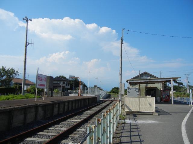 阿字ヶ浦駅(2011/7/10)全線運転再開前